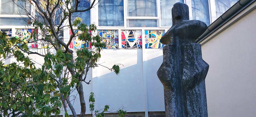 Stele des Bildhauers Karl Wientzek