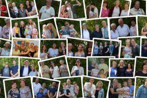 Fotos von Gemeindemitgliedern