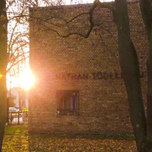 Sonnenaufgang in Mariendorf Süd am Nathan Söderblom Haus