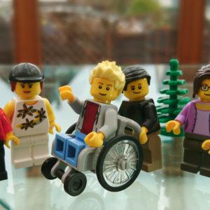 Konfirmanden Rollstuhl