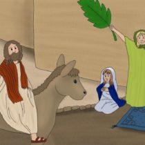 Für Kinder erzählt: Palmsonntag