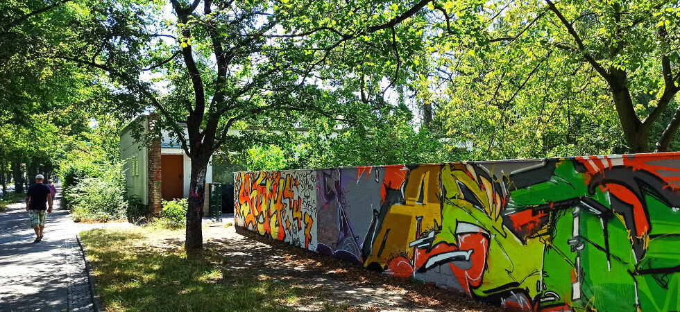 Legale Graffiti-Wand