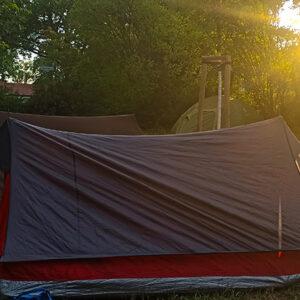 Sommer Zelten Kinder Gemeindewiese